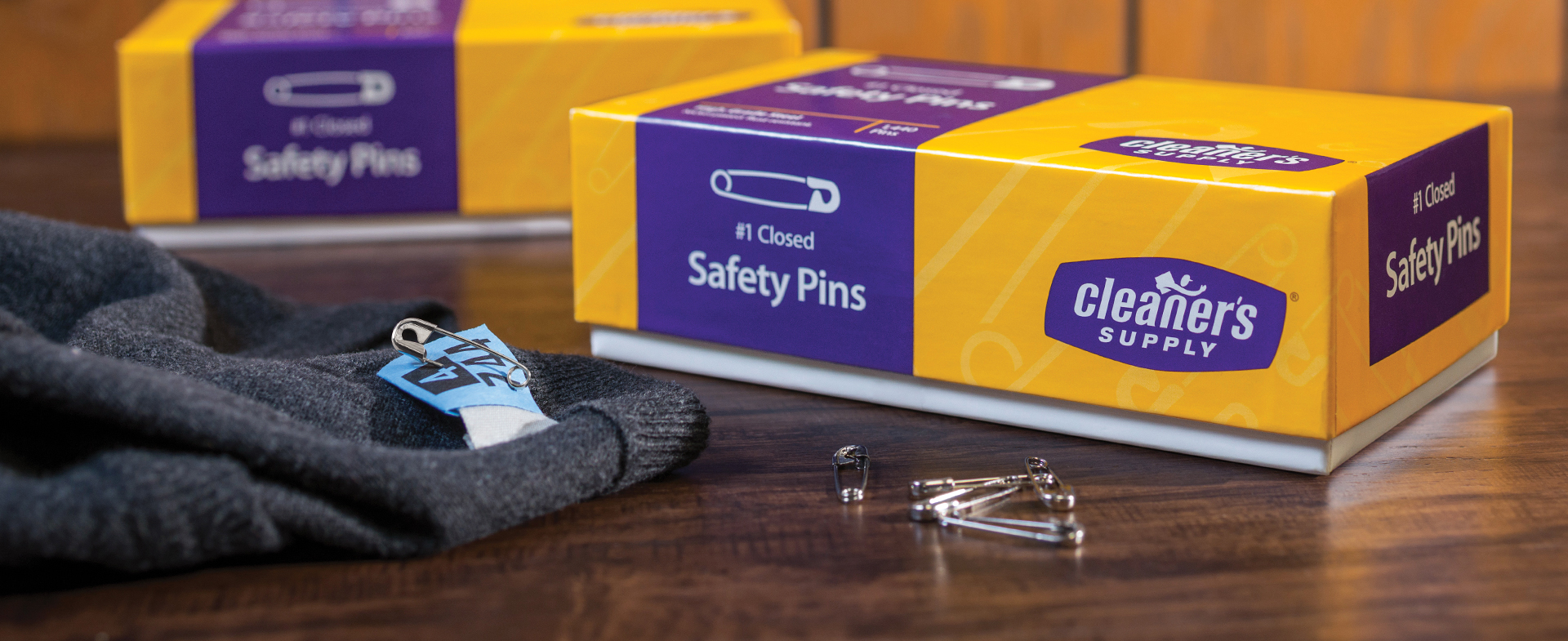 Cleaner's Supply #1 Closed Safety Pins