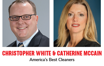 Chris White and Catherine McCain America's Best Cleaners
