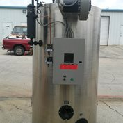 30 HP FULTON VERTICAL GAS FIRED BOILER ++RECONDITIONED