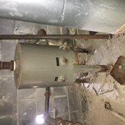 Used Fulton Blowdown Separator