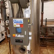 2010 Year Fulton 20 HP Steam Vertical Boiler LOW EMISSIONS Model