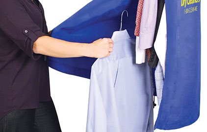 Easy Load for Simpler Bagging of Garments