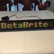 PRICE LOWERED!! INDOOR ADVERTISING SIGN - NEW Beta Brite Color Programmable Sign