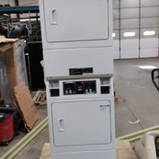 BSGBCAG IPSO VENDED GAS 120V DOUBLE STACK DRYER NEW