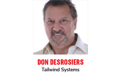 Don Desrosiers Tailwind Systems