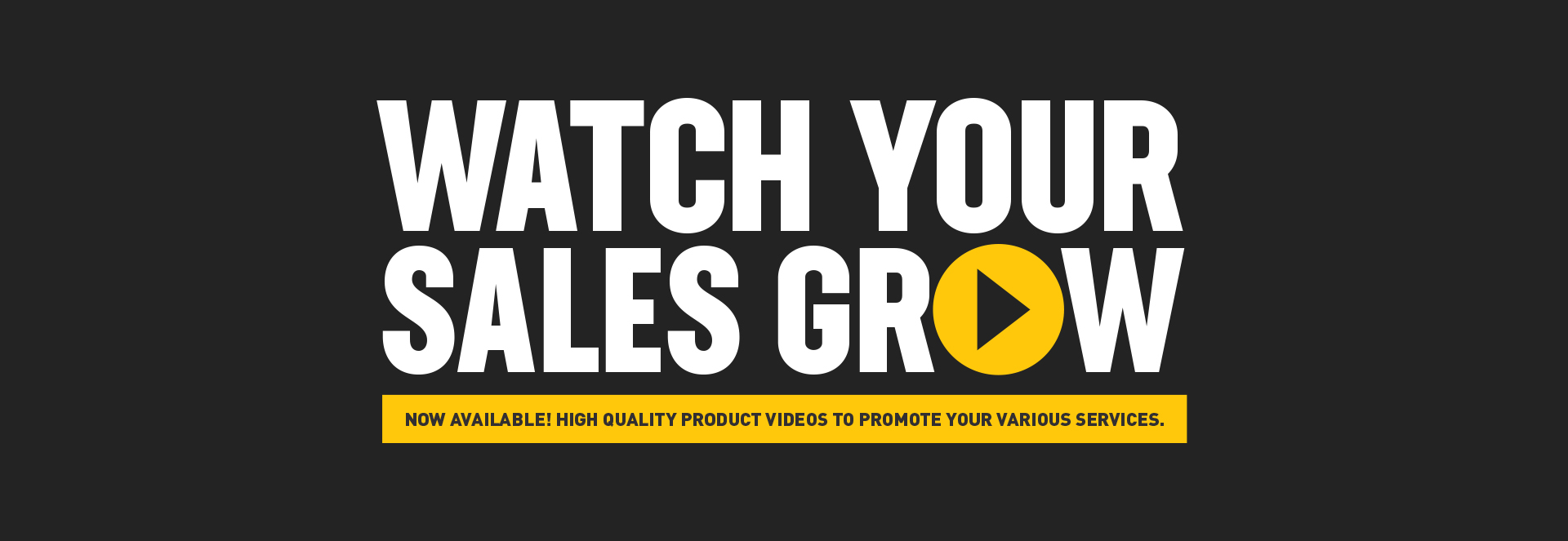 Watch Your Sales Grow Video Marketing Program