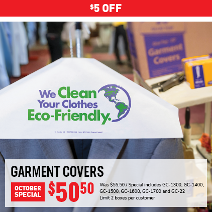Cleaner's Supply Garment Cover Sale