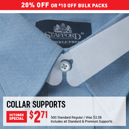 Cleaner's Supply Collar Support Sale