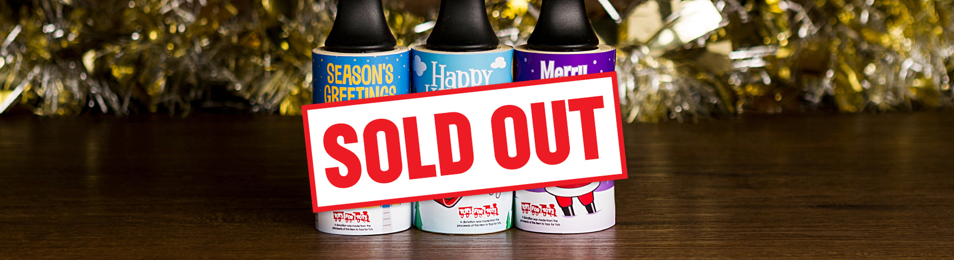 2019 Cleaner's Supply Holiday Lint Removers Sold Out