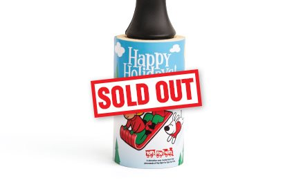 2019 Cleaner's Supply Holiday Lint Removers Happy Holidays Sold Out