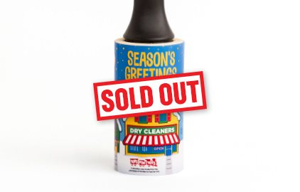 2019 Cleaner's Supply Holiday Lint Removers Season's Greetings Sold Out