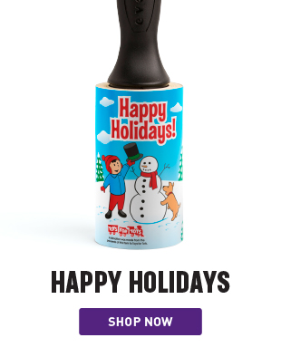 Happy Holidays Lint Remover