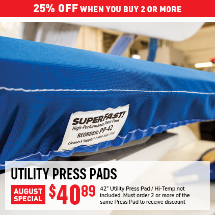 Cleaner's Supply Utility Press Pad Sale