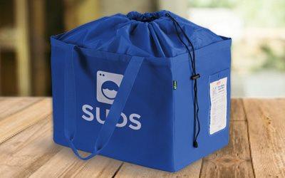Custom Printed Wash N Fold Bag